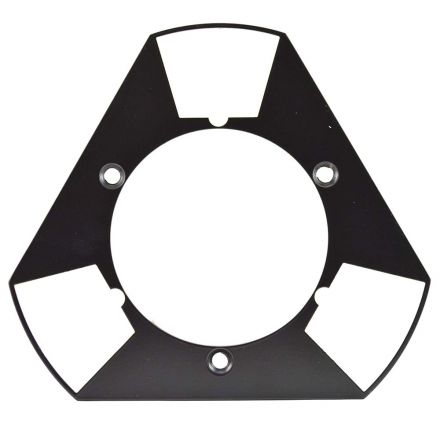Total Polishing Systems TPSX1HALFQP Metal HALF of Quick Plate that Does Not include Magnetic Plate