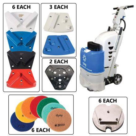 Total Polishing Systems TPSX1KITQPNO (TPS X1) Floor Preparation Machine Kit