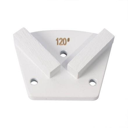 Total Polishing Systems TRAP120 Trapezoidal 120 Grit Diamond Block